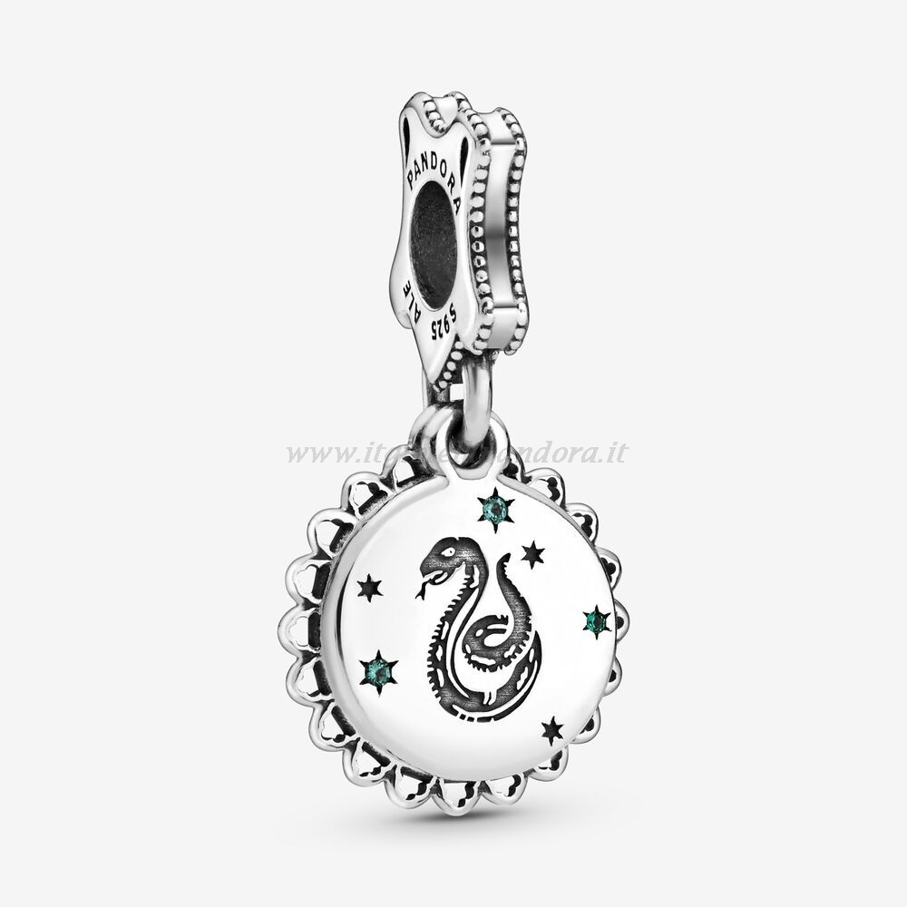 Shop Pandora Harry Potter, Serpeverde Ciondola Fascino Collezione