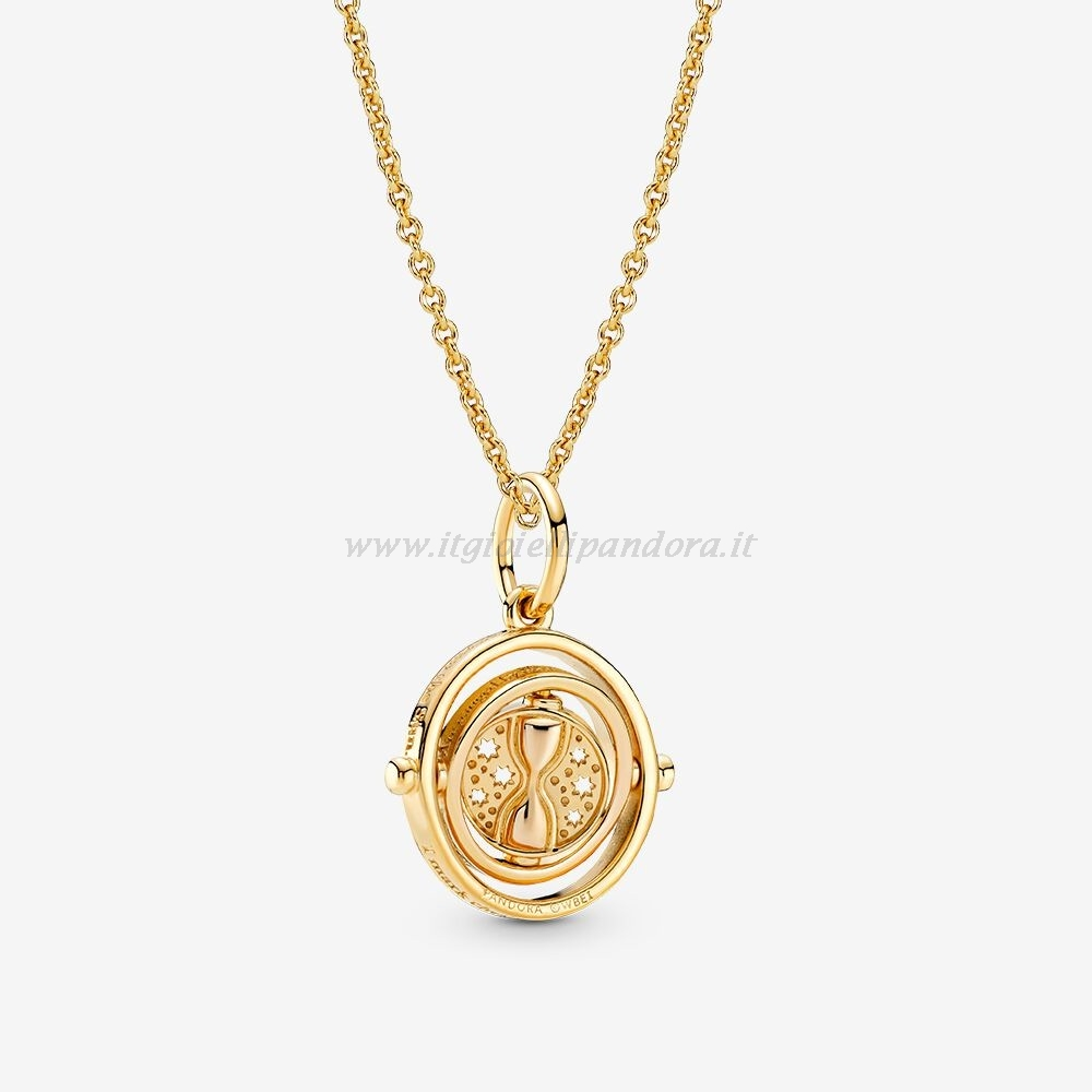 Shop Pandora Harry Potter Time Turner Collane Impostata Collezione