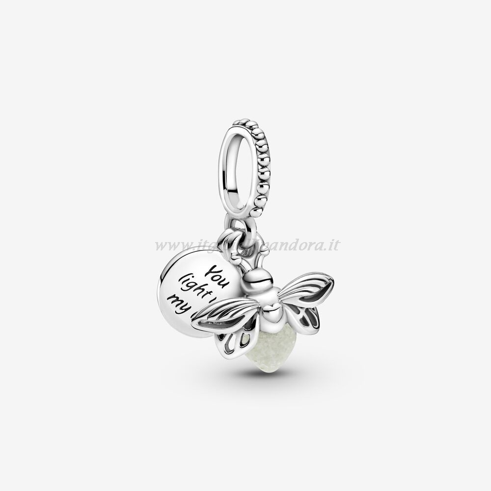 Shop Pandora Glow In The Dark Firefly Dangle Charm Collezione