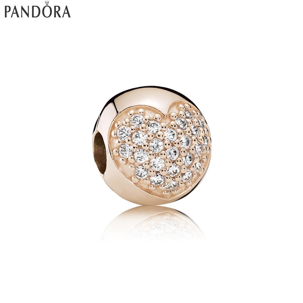 Shop Pandora Amore Of My Life Clip Rose Collezione