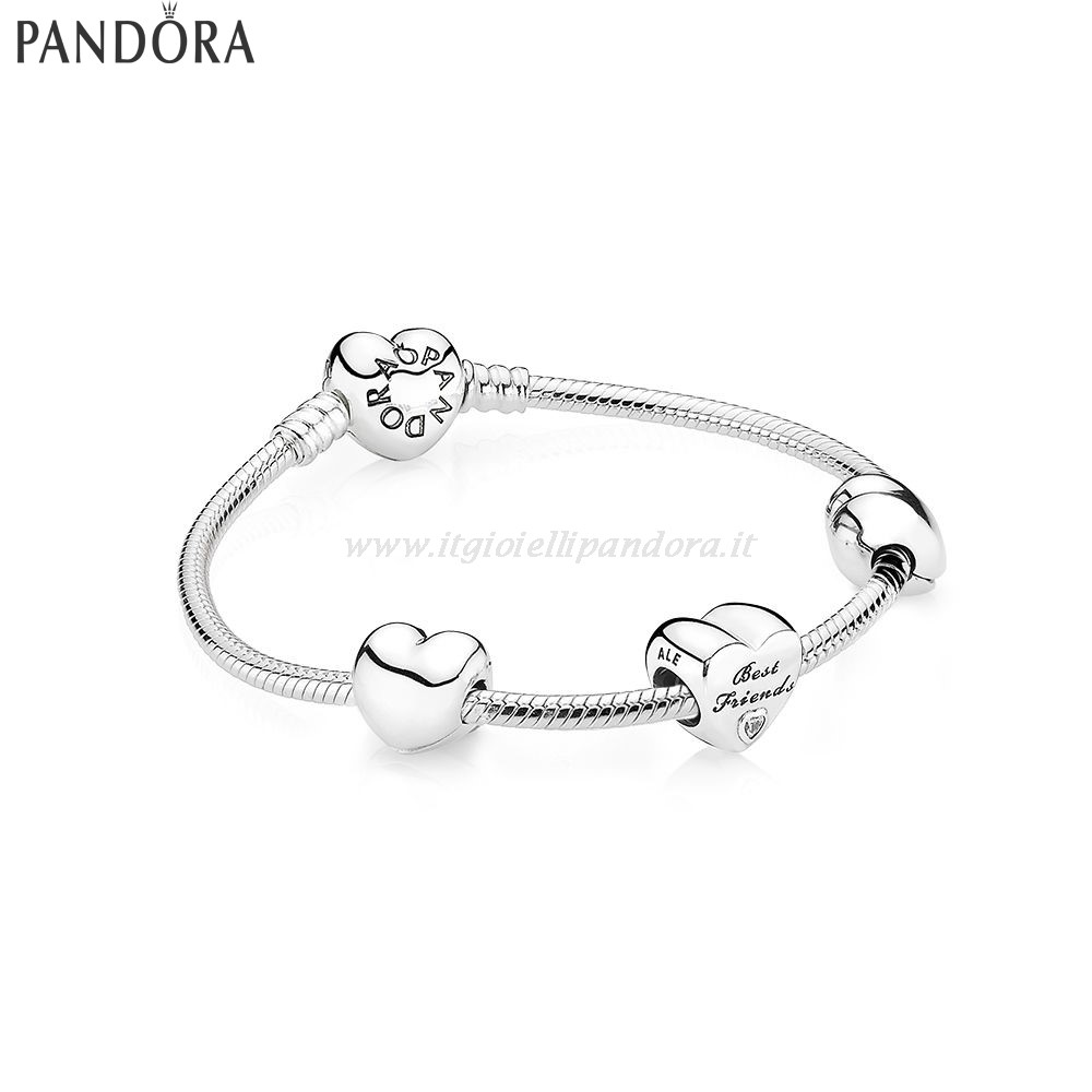 Shop Pandora Best Friends Forever Collezione