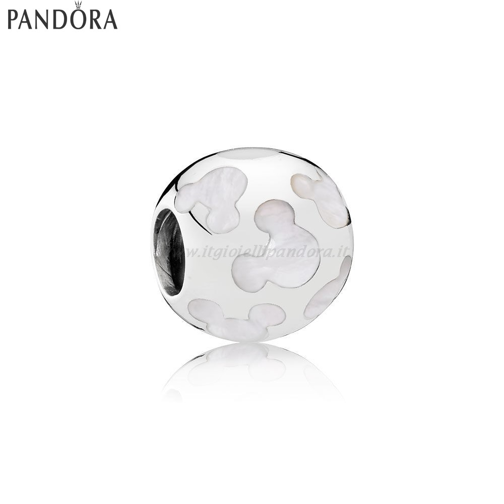 Shop Pandora Disney Charms Pearlescent Mickey Sagome Collezione
