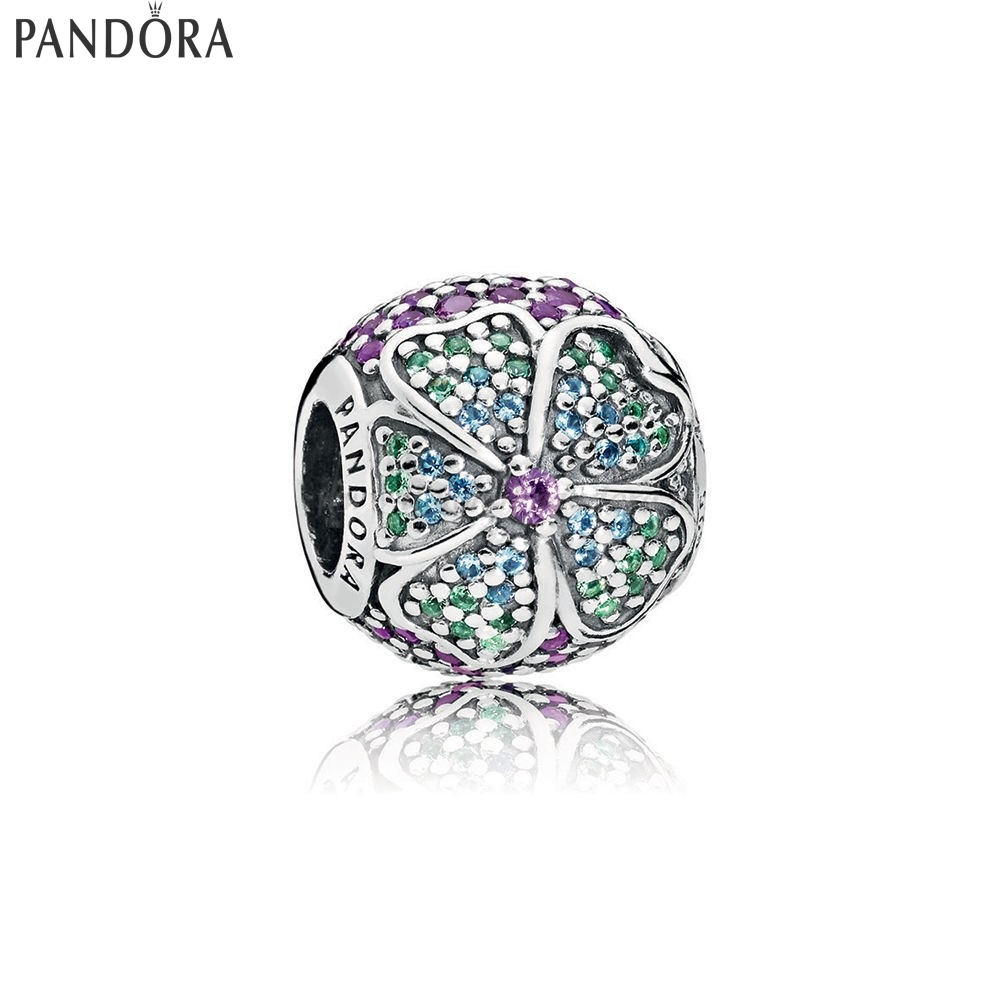 Shop Pandora Glorious Bloom Multicolore Cz Collezione