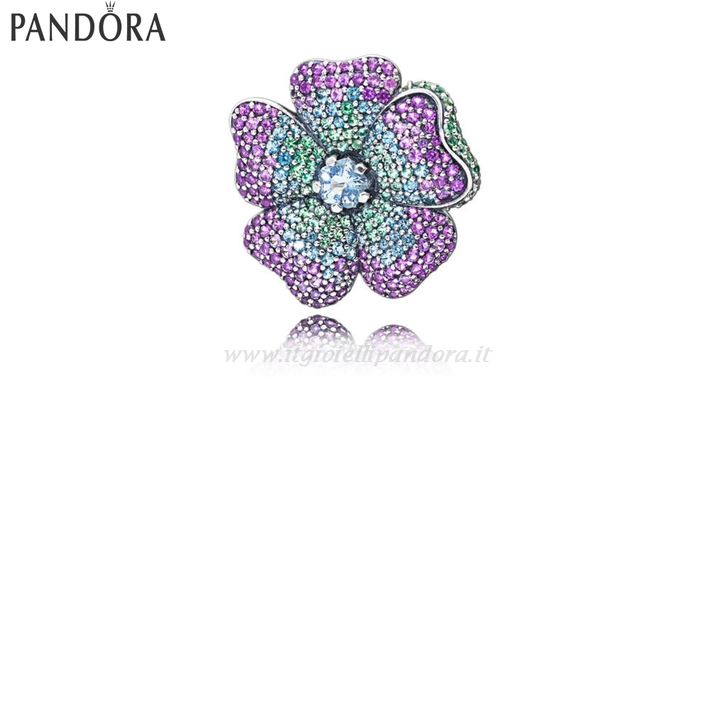 Shop Pandora Glorious Blooms Collane Durante Collezione
