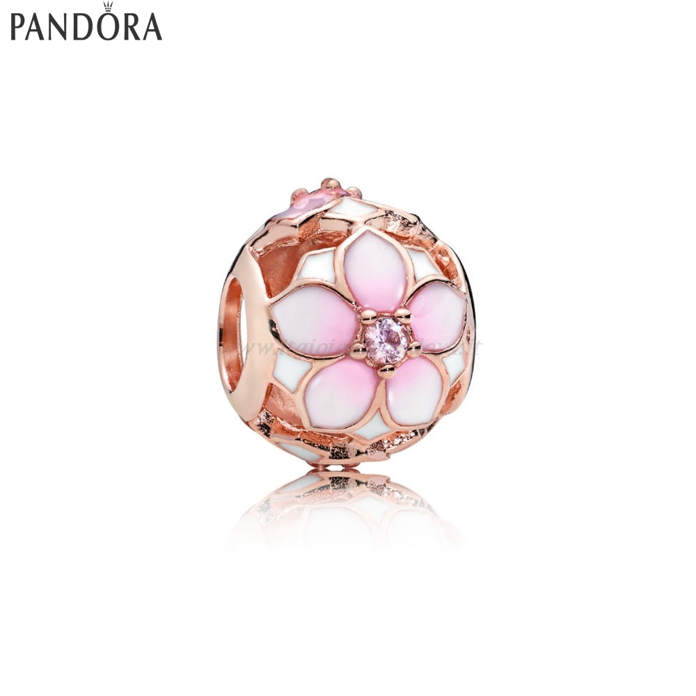 Shop Pandora Pandora Rose Magnolia Bloom Fascino Collezione
