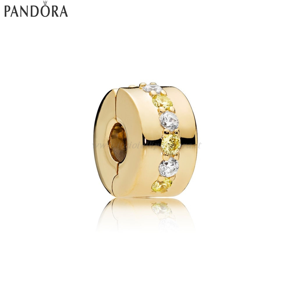 Shop Pandora Pandora Shine Splendente Path Clip Collezione