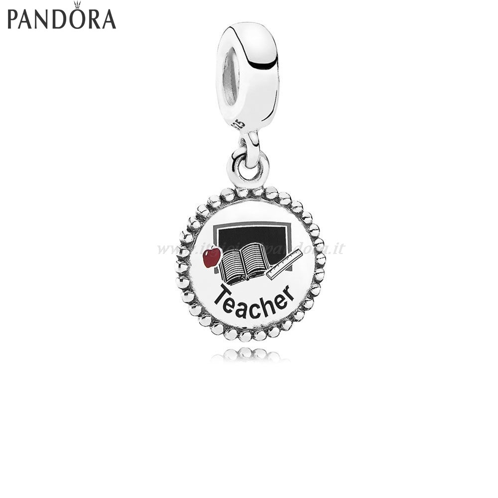 Shop Pandora Teacher Dangle Charm Mixed Enamel Collezione