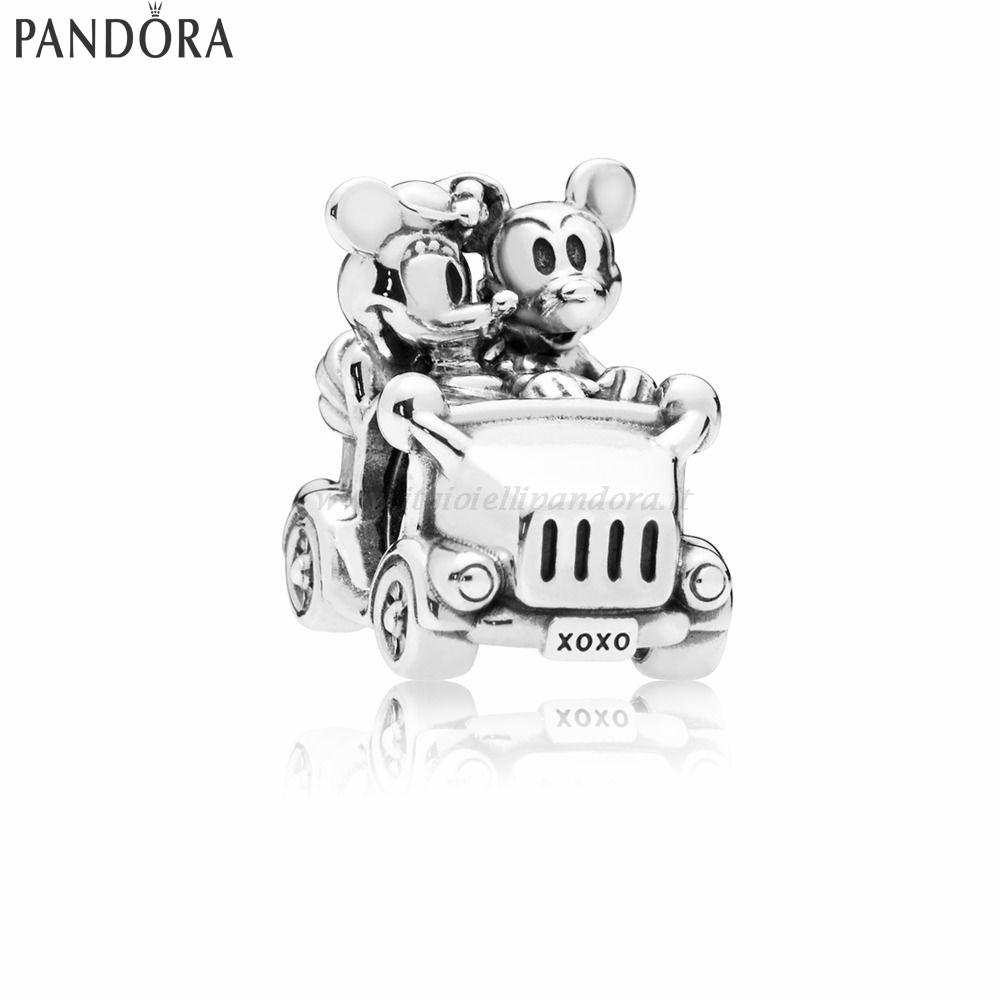 Shop Pandora Disney Mickey E Minnie Vintage Auto Charma Collezione